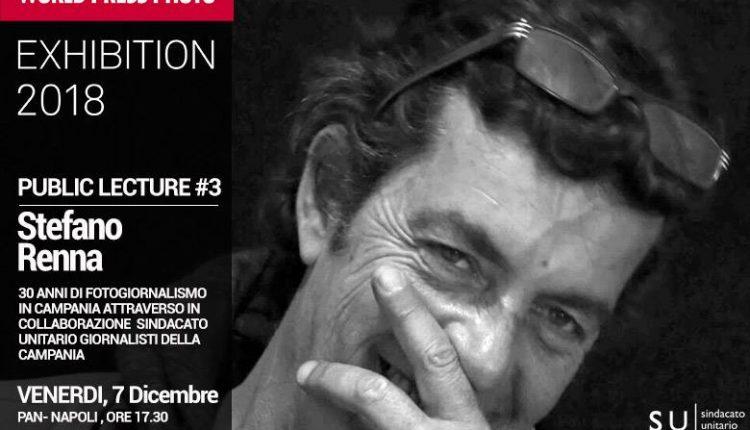Al World Press Photo Napoli, la public lecture del fotoreporter Stefano Renna