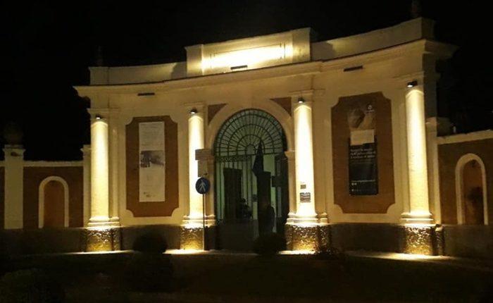 Ercolano, nuove luci per ingresso Scavi:Valorizza confine tra città antica e quella moderna