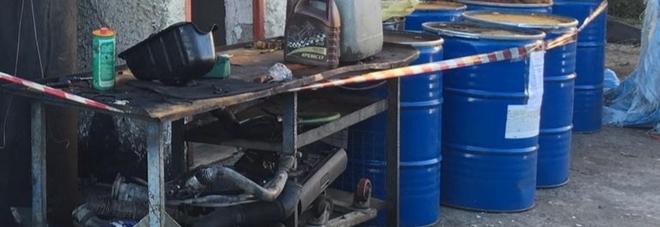 Sequestrate due officine per gestione illecita di rifiuti nel Vesuviano