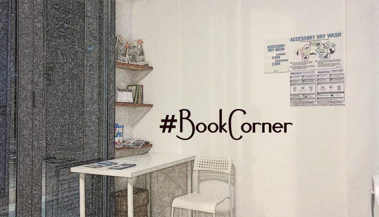 #BookCorner   nella  LAVANDERIA AUTOMATICA VOLLA  arriva l'angolo dedicato alla lettura  protagonista: laSTORIA DI VOLLA