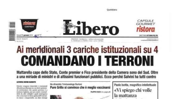 Titolo contro i Meridionali. Ordine dei giornalisti processa Libero e bacchetta Di Maio