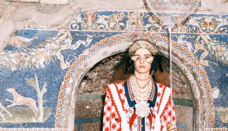 Alta Moda fra gli scavi: Gucci a Pompei ed Ercolano per la nuova collezione Pre-Fall Donna 2019