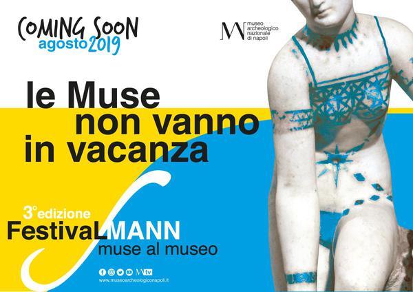 """'Muse al Museo' ad agosto la sfida del Mann. Il direttorePaolo Giulierini: """"Per la terza edizione scommettiamo sull'estate in città"""""""