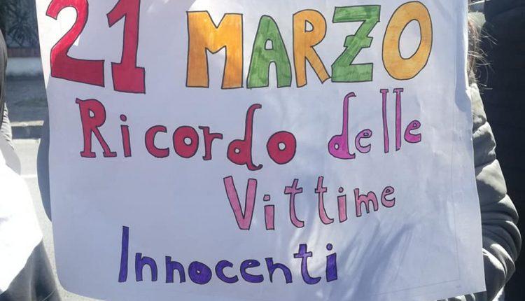 STUDENTI E CITTADINI IN MARCIA PER LA LEGALITA' '21 marzo: Giornata dell'Impegno Civico' a San Sebastiano al Vesuvio