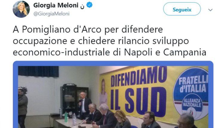 Città insicura e violenta: Fratelli d'Italia promuove la nascita di un osservatorio su legalità e sicurezza