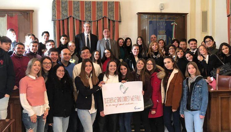 Ascoltare i giovani per non lasciarli soli:l'incontro tra il sindaco di San Giorgio a remano Giorgio Zinno e gli studentipubblicato sulla piattaforma europea