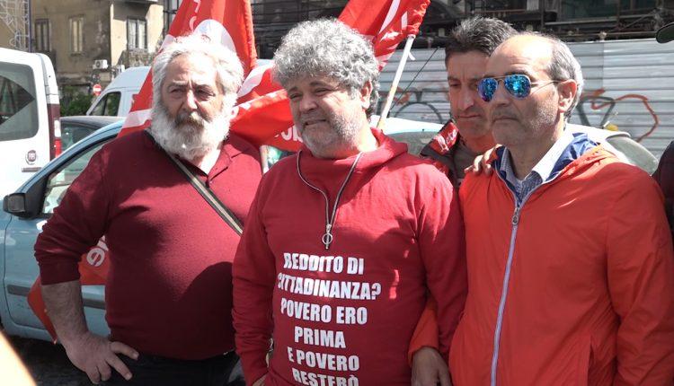 """Gli operai in protesta a Di Maio """"La povertà non è scomparsa"""":Assemblea il 18 maggio a Pomigliano, vicepremier ci incontri"""