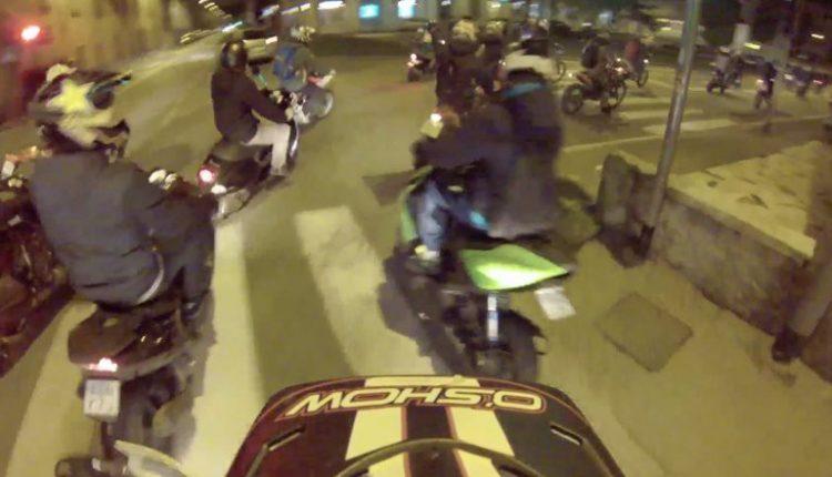 Gare in scooter tra minorennia Ercolano: denunciati in tre
