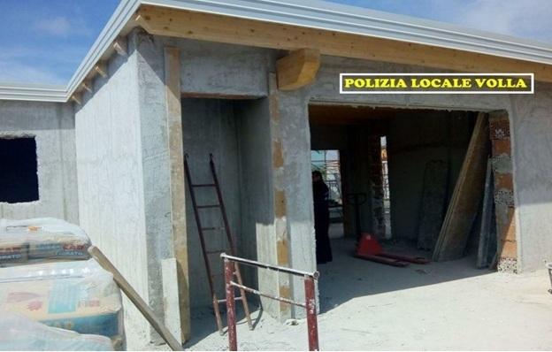 Sequestrato dalla Polizia Locale un cantiere edilizio a Volla
