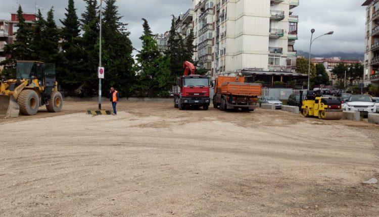Area ex Insud Casa, al via gli interventi di sistemazione.A giugno pronti i lavori in piazzetta Europa e via Galdieri