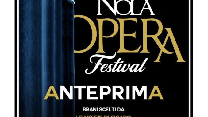 ANTEPRIMA NOLA OPERA FESTIVAL Il26 GIUGNO 2019 nella Sala del Capitolo al Museo San Domenico Maggiore di Napoli