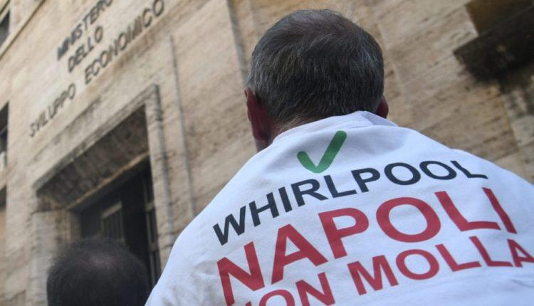 CORONAVIRUS E EMERGENZA LAVORO – Whirlpool, lo stabilimento di Napoli sospende la riapertura, aperto untavolo su sicurezza e tutela della salute oggipomeriggio