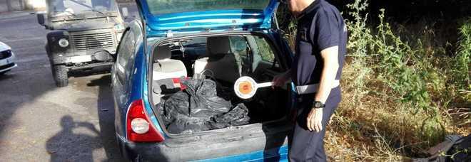 Fermato con sacchi di rifiuti da cantiere: denunciato 35enne nel Napoletano