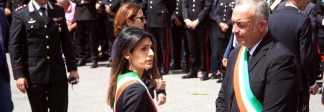 Carabiniere ucciso, la lettera del sindaco di Somma Vesuviana Salvatore Di Sarno: «Questo mondo non ti ha saputo proteggere». Il Comune parte civile al processo contro i due americani