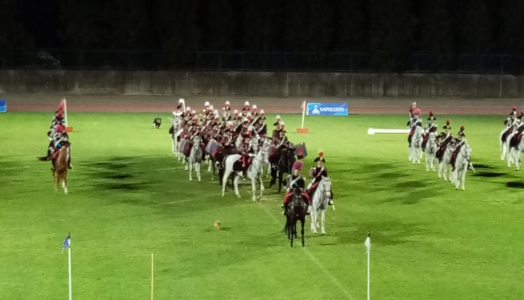 Carosello storico dei Carabinieri a Cercola,rievocato episodio di Pastrengo allo stadio 'G.Piccolo'