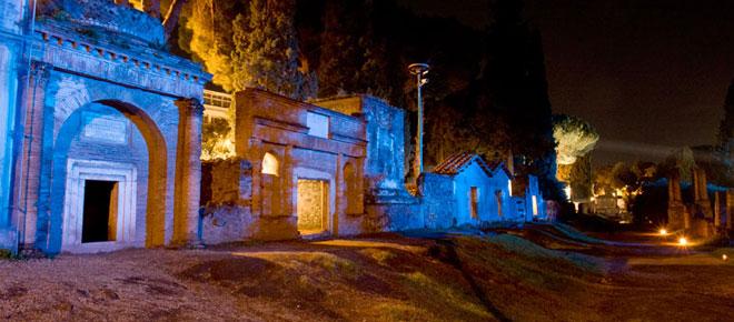 I Venerdì di Ercolano, luci e tableaux:al via percorsi serali al sito archeologico