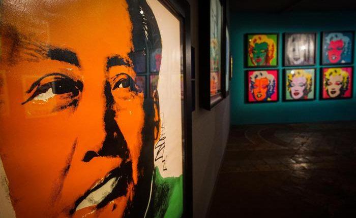 Andy Warhol a Napoli in 200 opere:esposizione fino al 23 febbraio nella Basilica della Pietrasanta