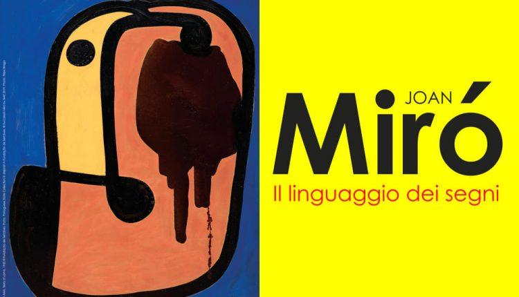 Da settembre a Napoli Joan Mirò in mostra: esposizione al Pan con riflettori sul linguaggio dei segni