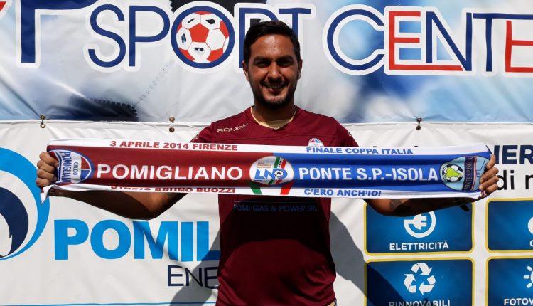 L'ASD Calcio Pomigliano  puna su Gennaro Esposito