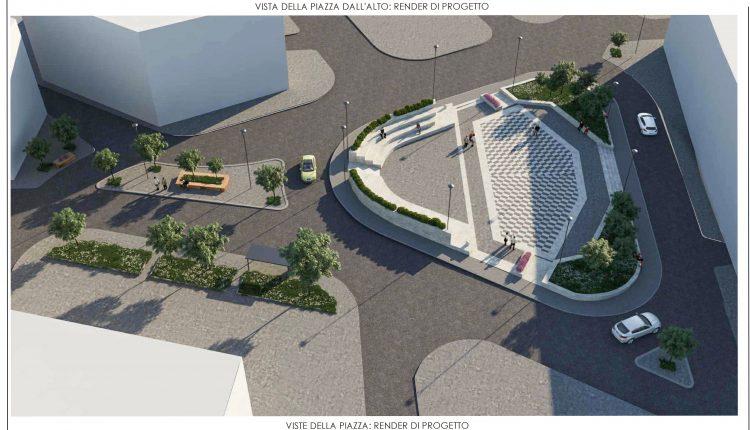 Il nuovo volto di Piazza Massimo Troisi a San Giorgio a Cremano:approvato il progetto definitivo.Cambia la viabilità, aumentano gli spazi verdi