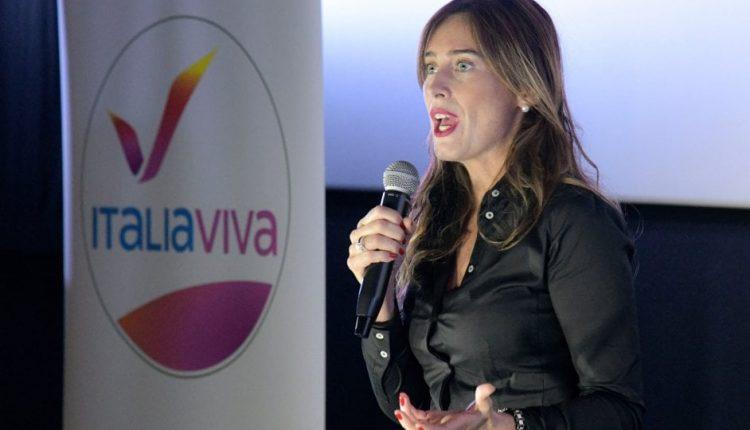 Italia Viva, con l'ex ministra Maria Elena Boschi, Gennaro Migliore, Ettore Rosato e l'attuale ministra Elena Bonettiw