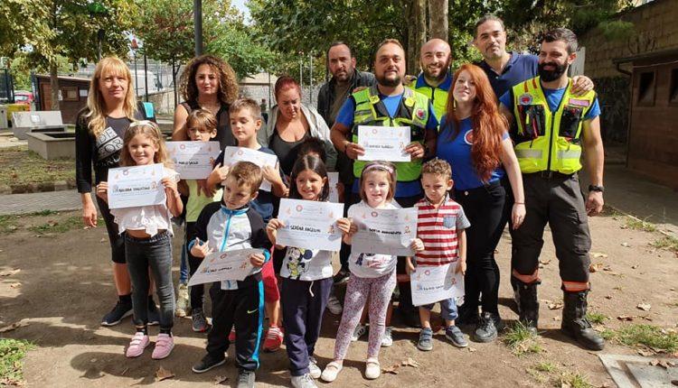 """""""Protezione Civile Camp"""": a San Giorgio a Cremano il 27 ottobre terzo appuntamento con bambini e famiglie nel parco Antonia Custra"""
