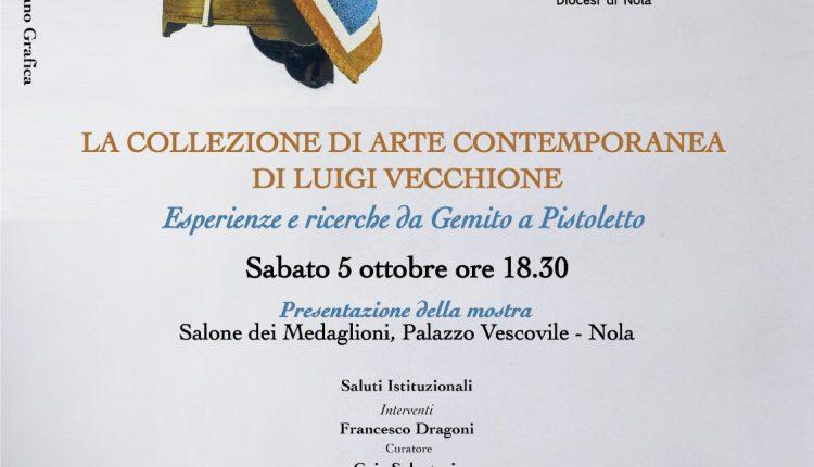 """Chiesa dei Santi Apostoli di Nola, la prima mostra della """"Collezione di arte contemporanea Luigi Vecchione"""""""