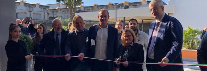 """Scuola, inaugurato il Campus dell'Iti Medi di San Giorgio a Cremano, il sindacoZinno: """"Fiore all'occhiello per tuttal'era metropolitana di Napoli"""""""