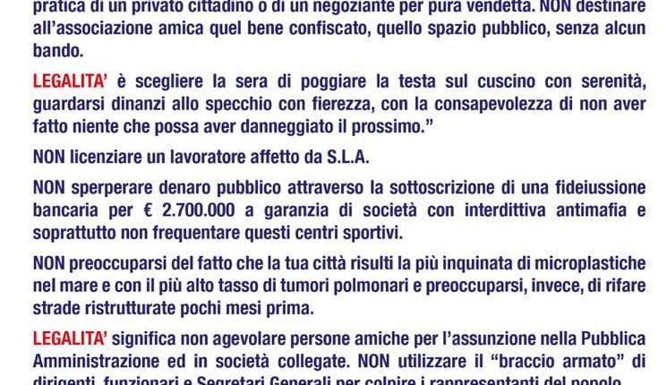 """""""Casal di Portici… legalità sospesa"""": il manifesto dell'opposizione che a Portici fa indignare il governo locale e i cittadini"""