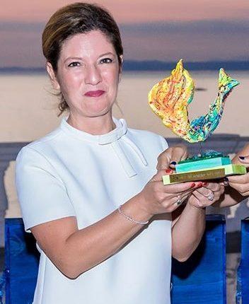 E' nata e vive a San Giorgio a Cremano, Stefania Cantoni è la manager della divisione spazio del Centro Italiano Ricerche Aerospaziali