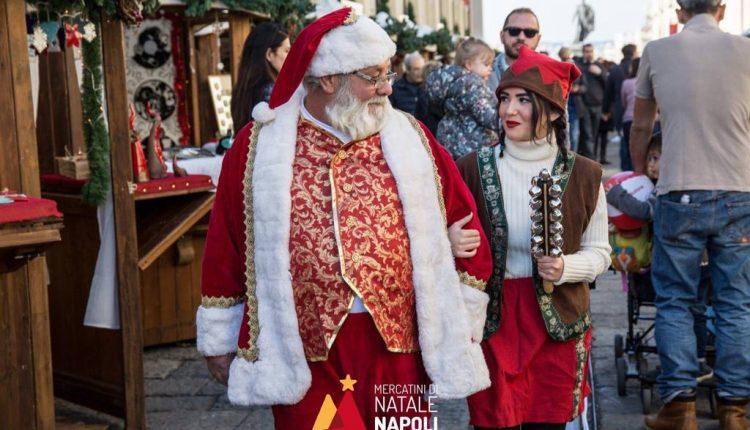 """L'incanto di elfi e magici incantesimi ai mercatini di Natale di Pietrarsa:da Napoli a Cava De' Tirreni: per questo Natale """"Animazione in corso"""" si sdoppia"""