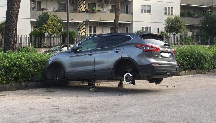 Escalation di furti di pneumatici a Napoli e provincia