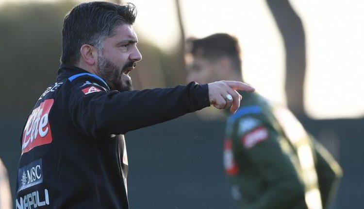 """""""Ringhio""""Gattuso: """"Il settimo posto del Napoli è imbarazzante,risaliamo"""""""