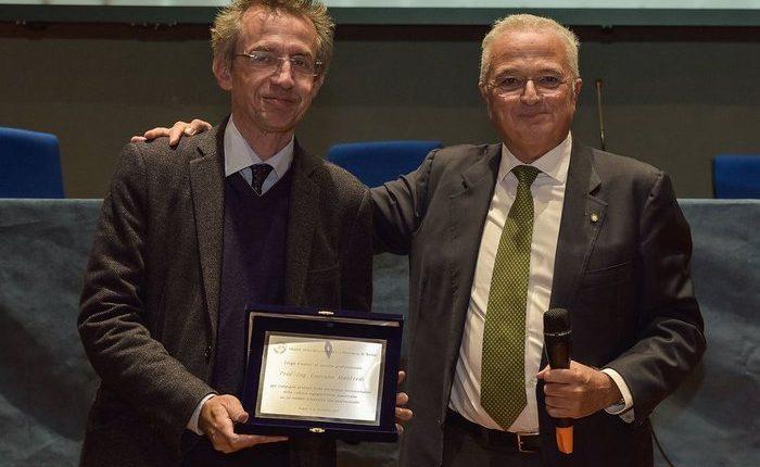 Ingegneri d'eccezione, targhe dall'Ordine a CorradoFerlaino e Gaetano Manfredi, rettore dell'Università Federico II