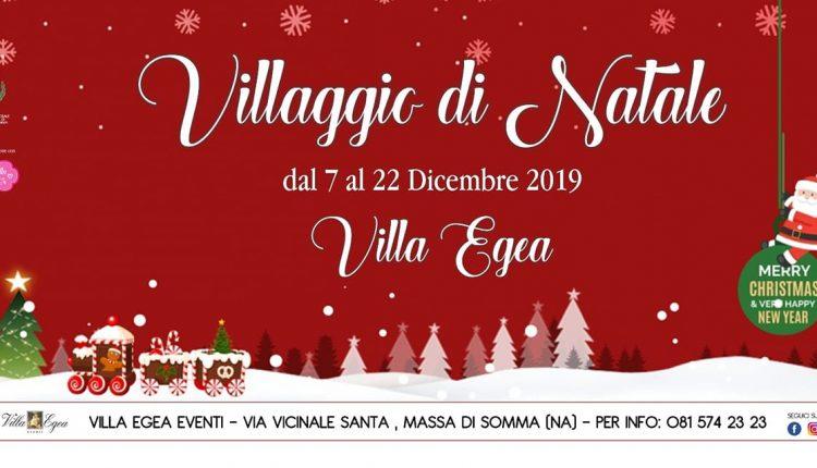 Nell'incantevole location di Villa Egea è di scena il Villaggio di Babbo Natale: area food, spettacoli tutti i giorni, elfi e cantastorie