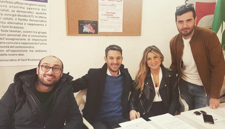 Antonio Pone è il nuovo segretario del Pd a Sant'ANastasia: con lui una squadra mista tra giovani e veterani