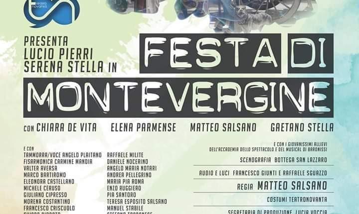 AL TEATRO SUMMARTE – Festa di Montevergine  a Somma Vesuviana con Lucio Pierri e Serena Stella per la regia Matteo Salsano