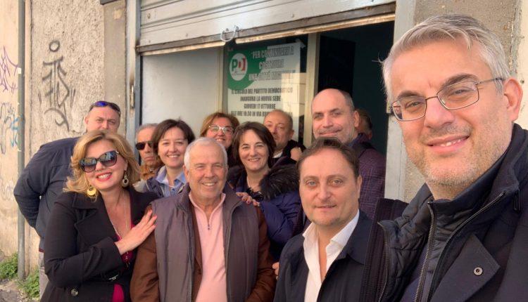Il Pd a San Giorgio a Cremano rilancia la candidatura di Giorgio Zinno e riconferma ai vertici locali il segretario uscente Giuseppe Ferrara