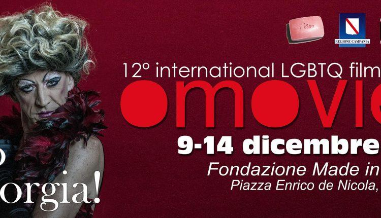 «Io sono Giorgia!», un trasformista sul manifesto dell'Omovies Film Fest: dal 9 al 14 dicembre a Napoli la 12esima edizione della rassegna di cinema e cultura contro l'omofobia