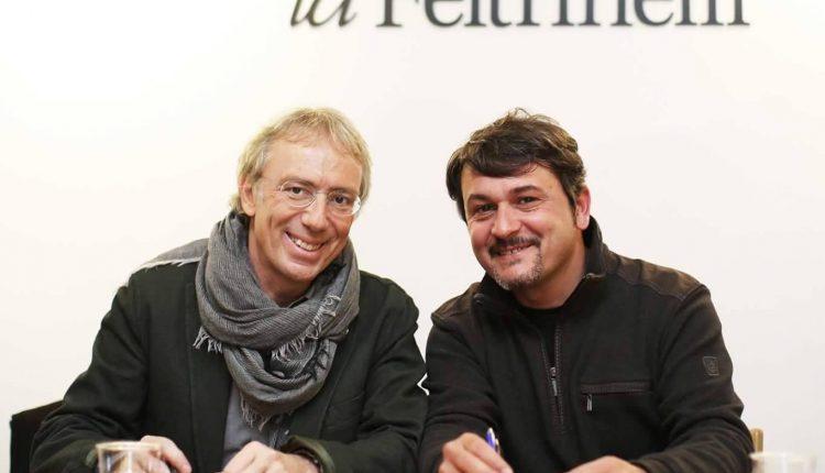 «L'Uovo di Virgilio», Vittorio Del Tufo e Sergio Siano a La Feltrinelli