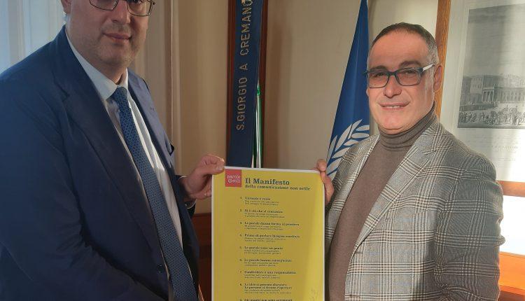 PAROLEOSTILI – Un manifesto contro le parole ostiliSindaco e Presidente del Consiglio comunale di San Giorgio a Cremano  aderiscono all'iniziativa #cambiostile