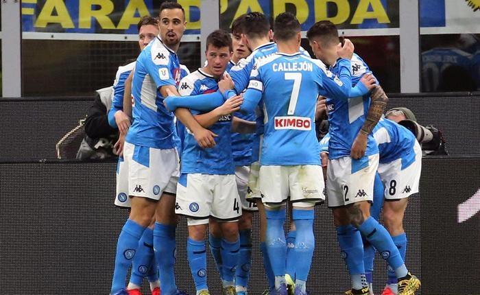 Coppa Italia, Inter-Napoli 0-1gli azzurri si aggiudicano l'andata della semifinale