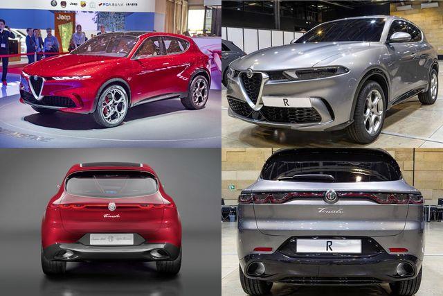 La nuova Alfa Romeo Tonale in produzione a Pomigliano d'Arco
