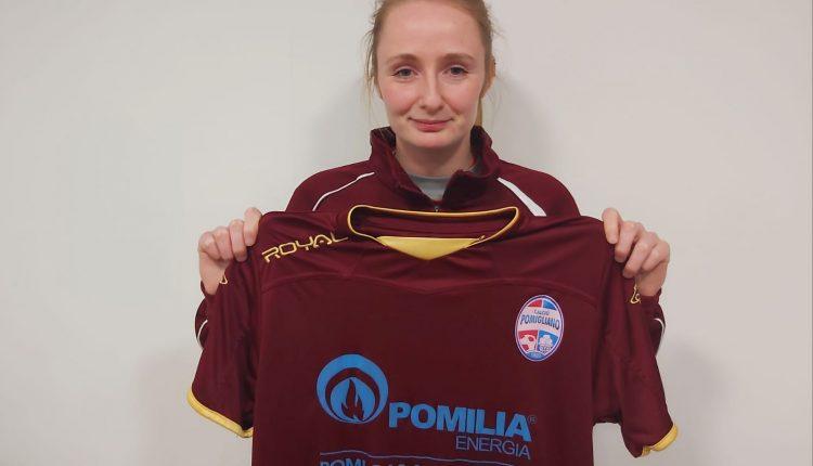 La lettone Angelina Jegorova rafforza la compagine del Pomigliano calcio femminile