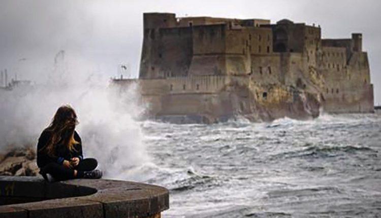 La Protezione civile Campania: allerta per vento forte
