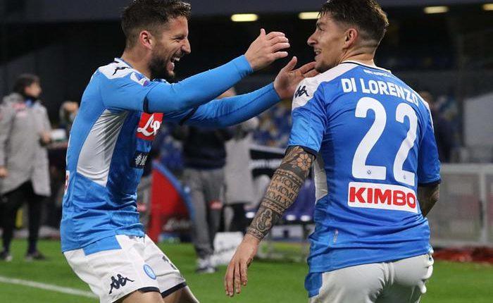 Napoli-Torino 2-1,decidono i gol di Manolas e Di Lorenzo. Azzurri a -3 dalla Roma