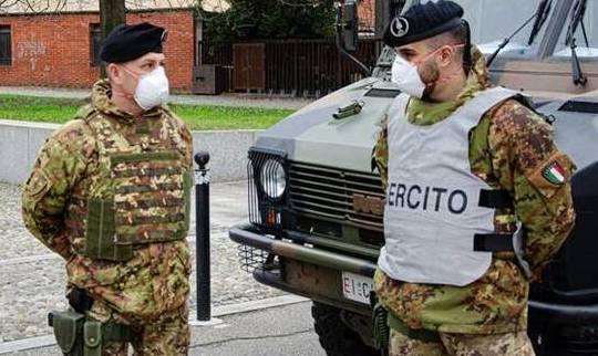 In Campania, 100 militari per controlli:60 nuove unità nel Salernitano, 40 rimodulate per l'area Nlapoli