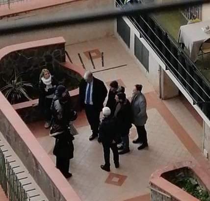 EMERGENZA CORONA VIRUS – Sanificato il condominio dove risiede un contagiato di San Giorgio a Cremano, messo in quarantena
