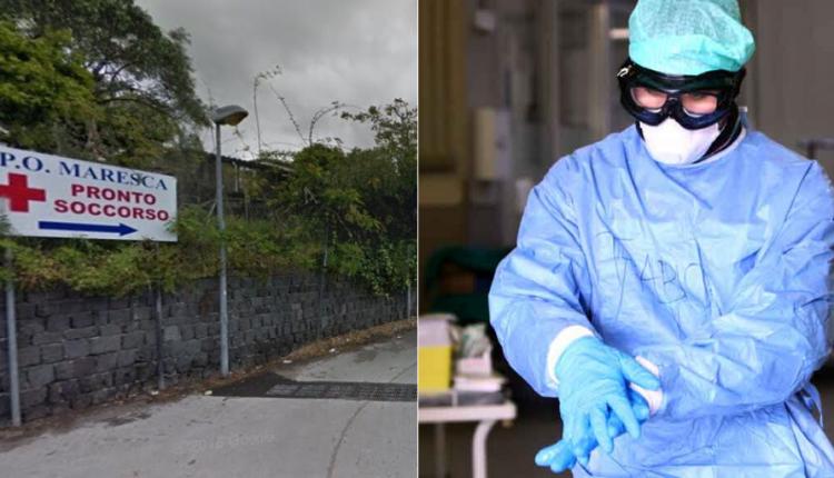 """Emergenza Coronavirus, un medico dell'ospedale Maresca: """"Di turno da solo al pronto soccorso"""":ore al telefono in cerca di posti letto, dispositivi di protezione inadeguati"""