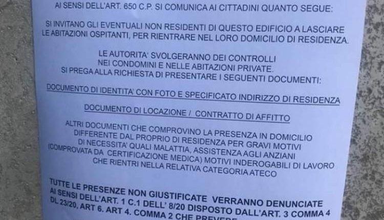 Coronavirus a Napoli, allarme dalla Questura: falsi annunci di controlli in abitazioni